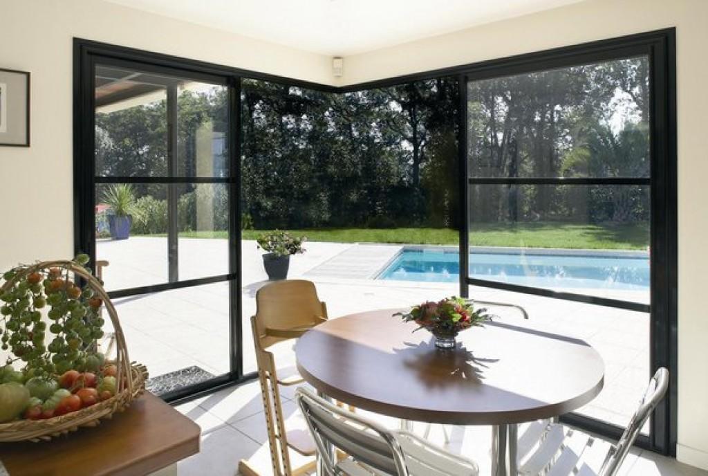 galandage et baie coulissante partner menuiseries. Black Bedroom Furniture Sets. Home Design Ideas