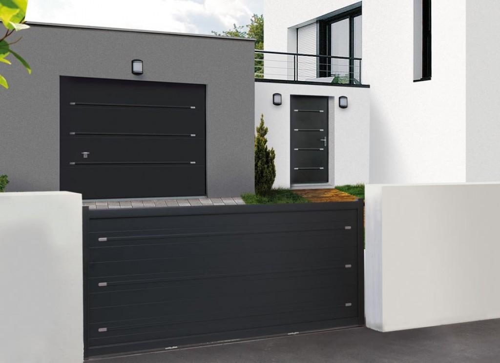 portail alu leroy merlin best portail battant aluminium. Black Bedroom Furniture Sets. Home Design Ideas
