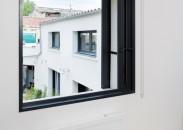Fenêtre galandage monorail